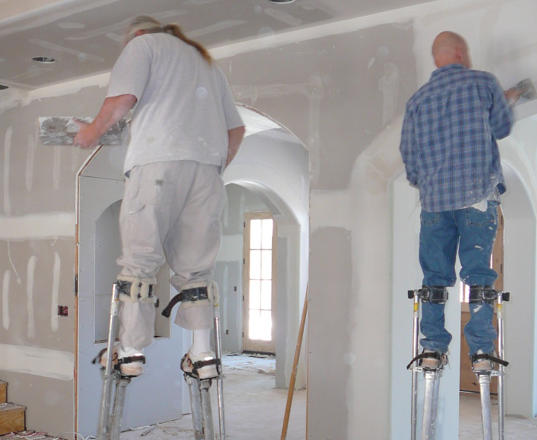 plastering stilts hire