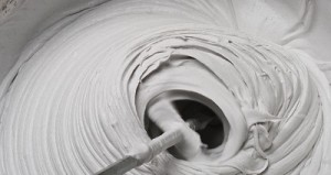 Mixing of a plaster