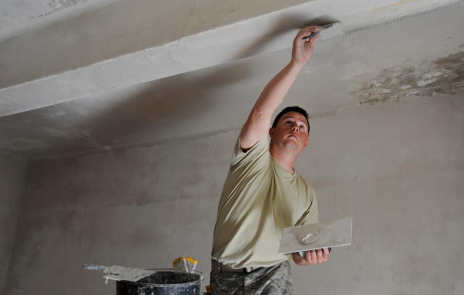 repair cracks in plaster walls