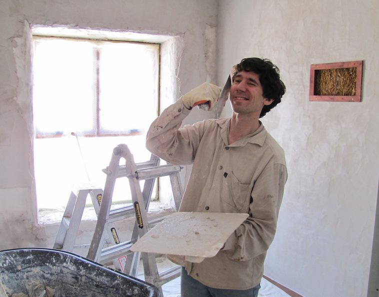 plastering stages