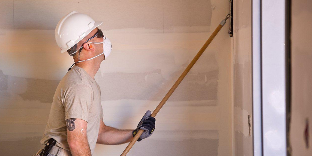How to Sand Drywall with Power Sanders