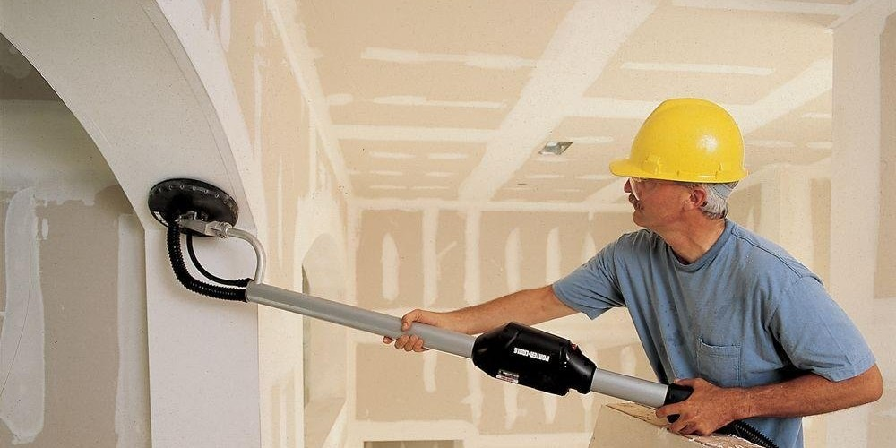 power sander drywall