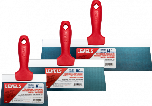 Level 5 BS Taping Knife Plastic Handle