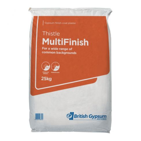 British Gypsum Thistle Multi Finish Plaster - 25kg