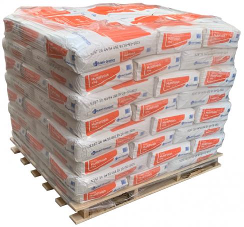 British Gypsum Thistle Multi Finish Plaster Pallet - 35 bags