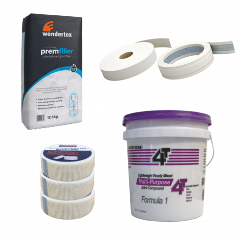 Taping & Jointing Medium Material Bundle With Pails