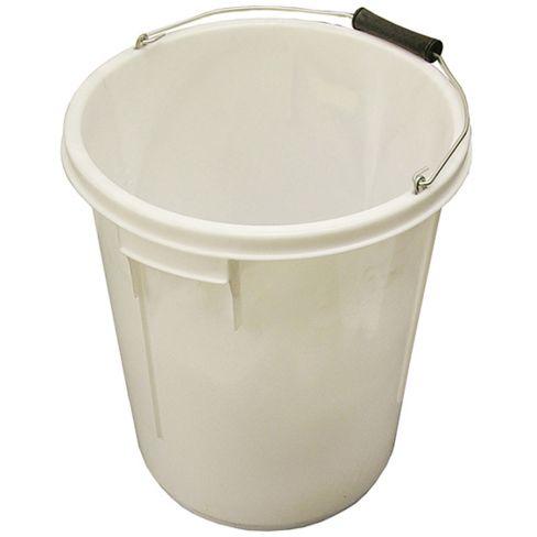 Faithful White Bucket 25L