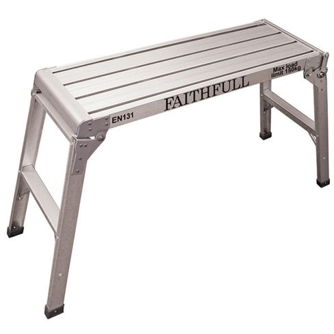Faithful Fold Away Hop-up/Step Up Aluminium