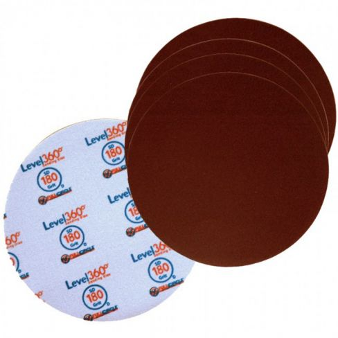 Full Circle Radius 360 Sanding Discs - 5 Pack