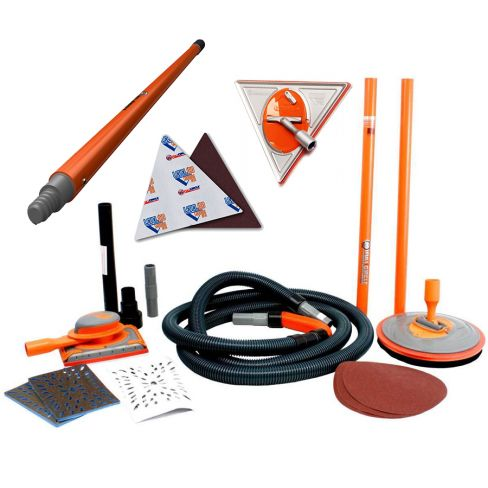 Full Circle Air Complete Dust Free Sanding System With Trigon 180 Bundle