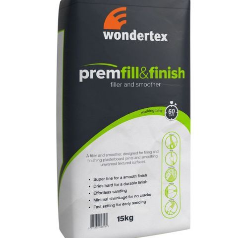 Wondertex Prem Fill & Finish 15kg (56 Bag Pallet)