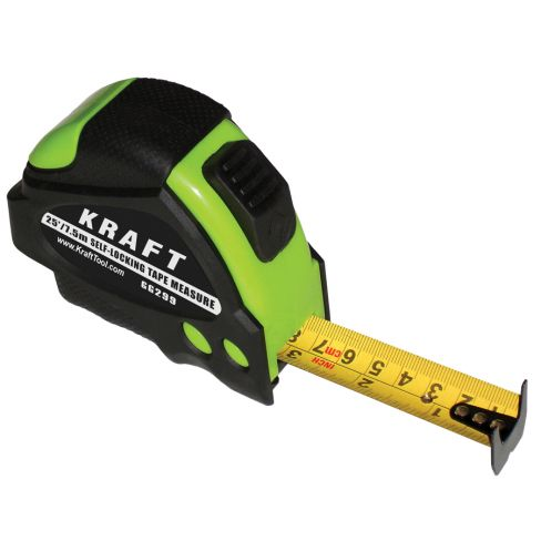 Kraft Tool Tape Measure 7.5M