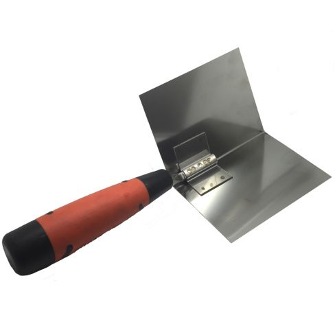 Kraft Tool Thin Coat Angle Trowel with ProForm® Soft Grip Handle