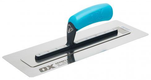 OX Semi Flex Stainless Steel Plasterers Trowel