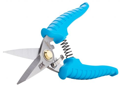 "OX Pro Snips 7"" - Industrial Quality Wire Snips"