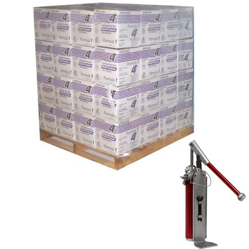 4T Lightweight Multi Purpose Ready Mix Jointing Compound (64 Box Pallet), 14.7L With Compound Pump