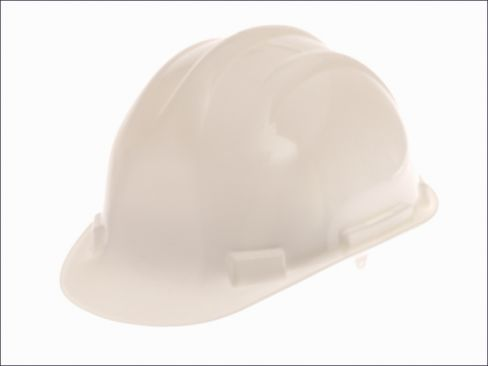 Scan White Safety Helmet