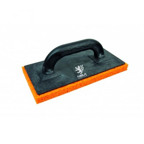 Nela Black Sponge Float - Rough