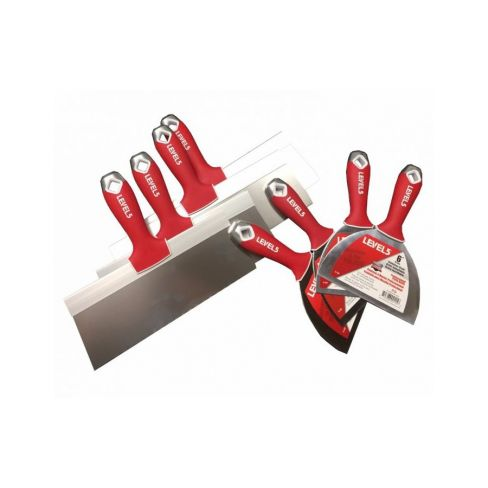 Level 5 Stainless Steel Taping & Putty Hand Tool Bundle