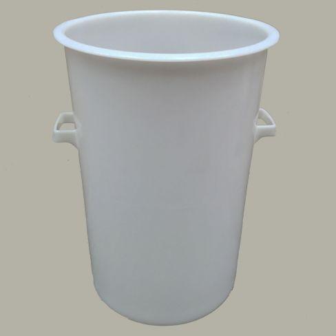 Putz Strong White Plastic Bucket 110 Litre